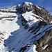 Aussicht vom Ofen (2188m) auf den Huetstock / Wild Geissberg (2676m).