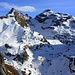 Aussicht vom Ofen (2188m):<br /><br />Zwei Prachtsberge der Zentralschweiz - links ist Hanghorn (2679m), rechts der Rotsandnollen (2700m). Dazwischen ist das kleine spitzige Hüenderbergli (2630m).