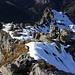 Rückblick vom Ofen (2070m) zum Gipfel der Nünplatten (2070m).
