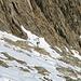 Nur auf den letzten Metern zum Blattjigrat liegt noch wenig Schnee