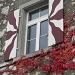 herbstliches Fenster am Schloss Schartenfels