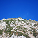 Erster Blick zum Gipfel (Zoom)