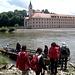 Die Zille zum Übersetzen zum Kloster Weltenburg