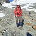 Endlich runter vom Gletscher - meine Hose war im Kniebereich immernoch nass