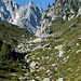 Dans le Val d'Arpette, près d'un passage nommé La Barme