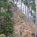 Steile Grashänge