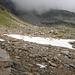Schafskühlung auf dem Weg zur Bocchetta del Lago Nord