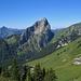 Panorama verso la Francia dal Col de Verne
