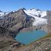 Panorama sul Lago di Gries e il Griesglätscher