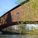 Die grosse Brücke wurde vor Jahrzehnten 500 Meter flussabwärts verschoben