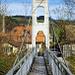 Die kleinste Brücke von Hasle-Rüegsau: der Hängelistäg