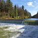 Hier zweigt der Kanal zur Fabrik Emmenau ab