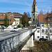 Brücke und Kirche in Lützelflüh