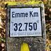 Länge der Emme ab Kantonsgrenze Solothurn