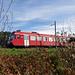 Die S4 von Langnau nach Burgdorf saust vorbei