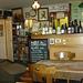 herrlich altmodische Einrichtung im Café Au Bon Vin