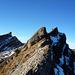 Rückblick aufs Grappenhorn und den Schafberg