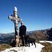 Gipfelglück: [u jackthepot] mit starkem Team. <br />Finnleys erster Gipfel.