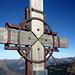 Ein schönes altes Holz-Gipfelkreuz