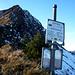 Am Gumpener Grätle hat man die ersten Einblicke in die schneereiche NO-Flanke des Zafernhorns.