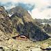 Die Schreckhornhütte SAC in hochalpiner Umgebung