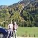 Bild der Anfahrt VII - im Venter Tal, wir hielten extra an wegen der herbstlichen Pracht