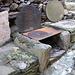 Tappia-barbecue con resti di stufa a legna