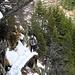 Abstieg vom Gipfel des Sassariente