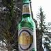 """Gut, zum Titel des """"Bergkönigs"""" hat´s mit der Besteigung des Sassariente vielleicht nicht ganz gereicht - aber ein gleichnamiges Bier kann man sich ja schon mal schmecken lassen - zumal sich das Fläschchen offensichtlich perfekt in den Berg einfügt..."""