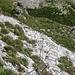 steiler Aufstieg, weiter mit Bügeln