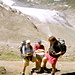 Frontière italo-suisse au Griesspass (Col de la Nuefenen)