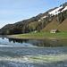 Blick zurück zum Lecknersee