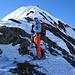 Gleich oben auf dem Piz Blaisun 3200m
