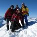 Auf dem Gipfel des Piz Blaisun 3200m