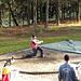 Hornusser im Training