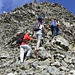 Der Gipfelanstieg steilt auf