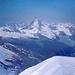 Matterhorn vom Strahlhorngipfel.