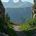 Les tours de Leysin, vues du chalet à Sautodoz
