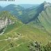 Jaman, vu du sommet des Rochers de Naye
