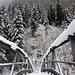 """Brücke über den Sefinenbach in Stechelberg, der """"hinterste"""" Punkt der Wanderung"""