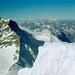 Blick vom Gipfel auf die westlichen Berner