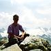 [u Jackthepot] auf dem Gipfel des Kleinen Seehorns
