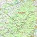 Lage vom Roc du Taurupt (731m). Der Gipfel liegt im Département Meurthe-et-Moselle von dem er der höchste Punkt ist.