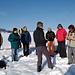 Wintertourenchef Küsu im Element