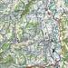 Ungefähre Route Brückenweg Untertoggenburg N