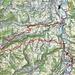Ungefähre Route Brückenweg Untertoggenburg S
