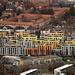 Farbenfroher Tiefblick nach Zürich vom Aussichtsturm