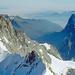 Blick nach Osten über das Tal von Grindelwald hinweg.