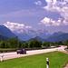 Unterwegs Richtung Ötztaler Alpen - kurz vor Autobahnende Richtung Garmisch.