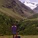 """Hat man ab Vent den ersten Buckel Richtung Martin Busch-Hütte erstiegen, präsentiert sich der Similaun """"quasi"""" als stolzer Talschluss des Niedertales."""